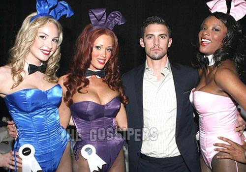miletto Milo Ventimiglia ad un party di Playboy