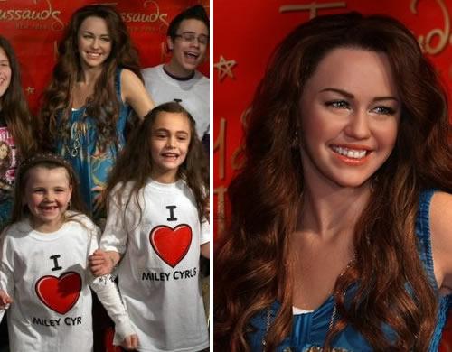 mileycera2 Miley Cyrus: la statua di cera