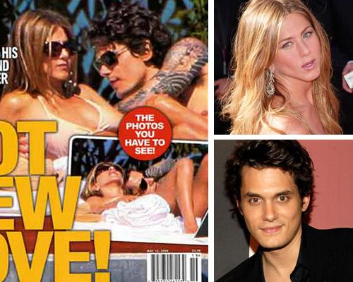 intouchnewlove Jennifer Aniston ritrova lamore con John Mayer