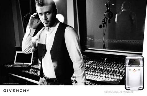 jg Justin Timberlake elegante per Givenchy