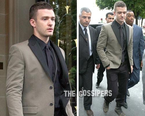 justingivencyh Justin Timberlake elegante per Givenchy