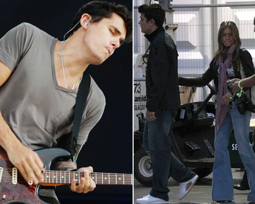 mayerconc Jennifer Aniston è la groupie di John Mayer