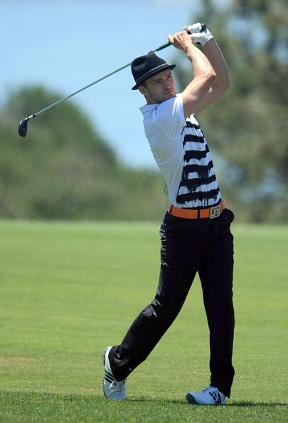 justin8 Justin Timberlake sogna il golf