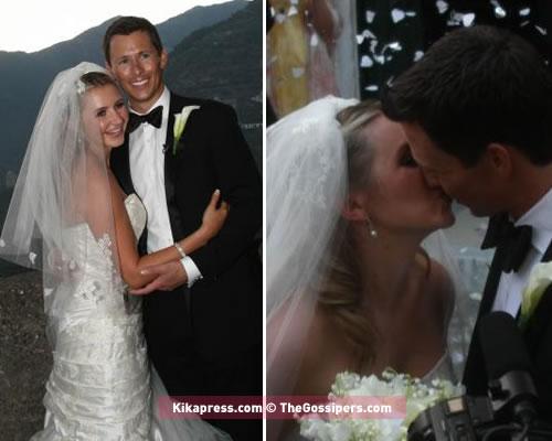 lucy2 Jessica e Justin al matrimonio di Beverley Mitchell