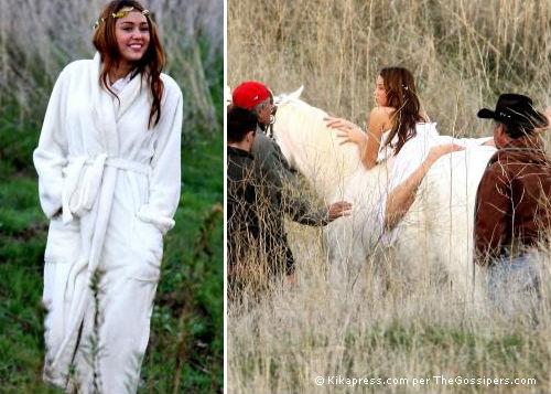 miley Miley Cyrus diventa hippie