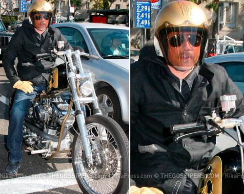 bradpittcentaurojpg Brad Pitt, il centauro di LA