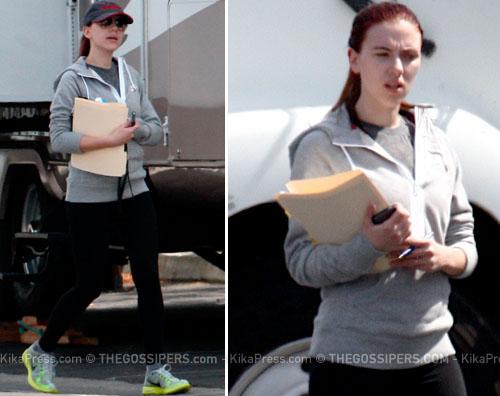 scarlett copione Scarlett Johansson in versione sportiva