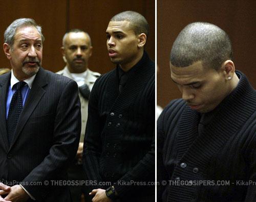 chris tribunale Chris Brown si dichiara innocente