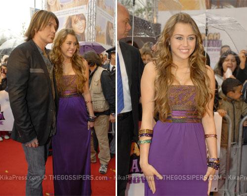 miley roma Il film di Hannah Montana presentato a Roma