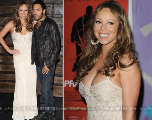 mariah cannes Mariah Carey e Lenny Kravitz a Cannes