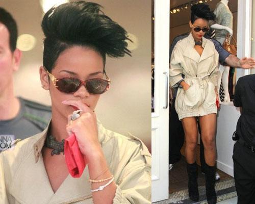 riricapelli Rihanna fa shopping a NYC