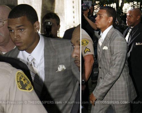 chris brown tribunale Chris Brown non andrà in prigione
