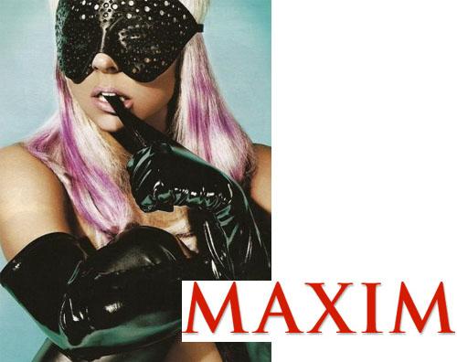 gagamaxim1 Lady Gaga sexy su Maxim