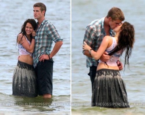 miley bacio Il bacio mozzafiato di Miley Cyrus