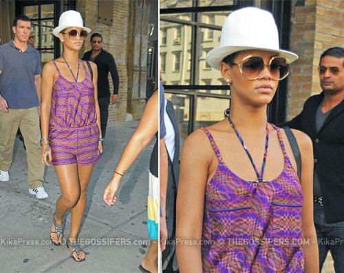 rihanna giro Rihanna torna al lavoro