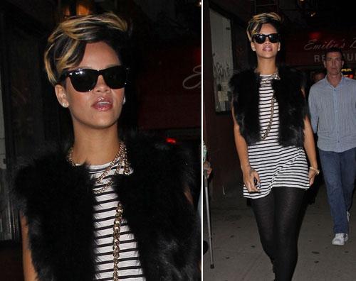 rihanna Nuovo look per Rihanna