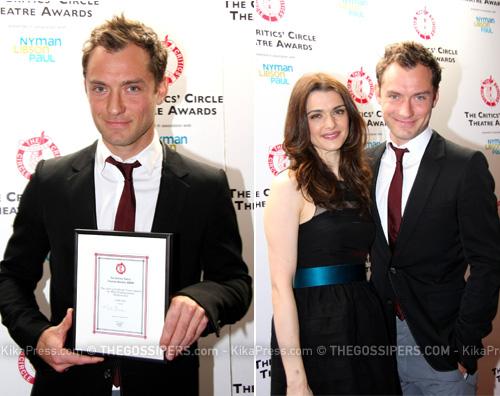 amleto jude Jude Law premiato per il suo Amleto