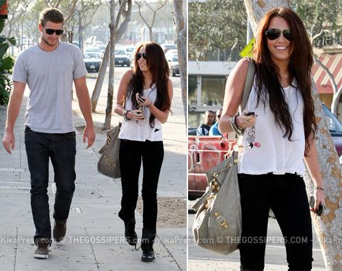 mileycitta Miley in città con il nuovo amore