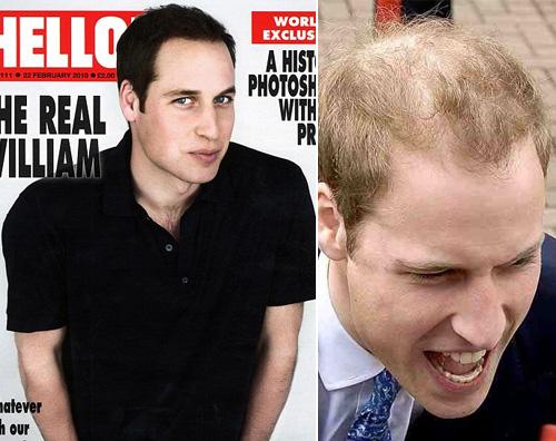 principe william Photoshop anche per il principe William!