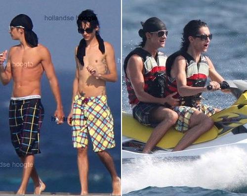 tokio vacanza Bill e Tom Kaulitz si divertono alle Maldive