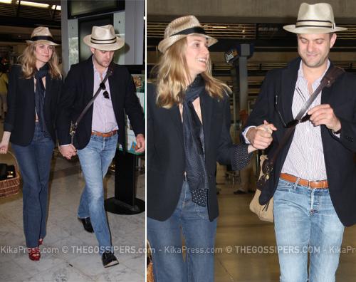 joshua jackson diane kruger Joshua e Diane arrivano a Cannes