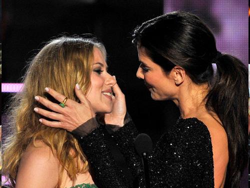 bullock scarlett I momenti più belli degli Mtv Movie Awards 2010