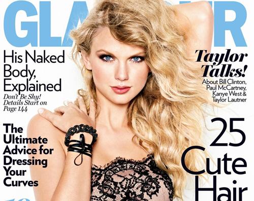 glamour swift Taylor Swift sulla copertina di Glamour