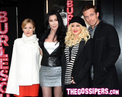 burlesque parigi Christina e Cher portano Burlesque a Parigi