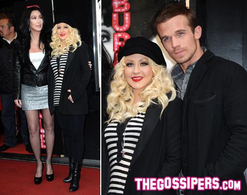 burlesque parigi2 Christina e Cher portano Burlesque a Parigi