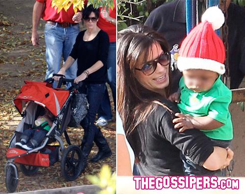 louis bullock Il primo Natale da mamma per Sandra Bullock
