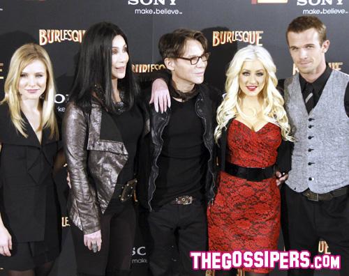 premiereburleqsue Christina e Cher presentano Burlesque a Madrid