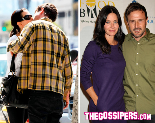 kikapress2 Courteney Cox: Ammiro David, lo amo e lo sostengo
