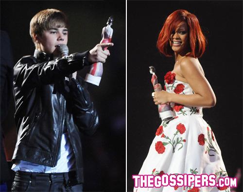 brit awards I Brit Awards premiano Rihanna e Justin Bieber