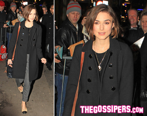 Keira Knightley impegn...