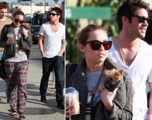 miley fidanzato Miley Cyrus fa la stracciona con il nuovo fidanzato