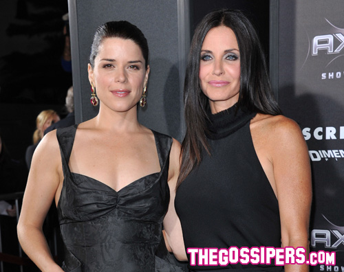 scream premiere Courteney Cox protagonista della premiere di Scream 4