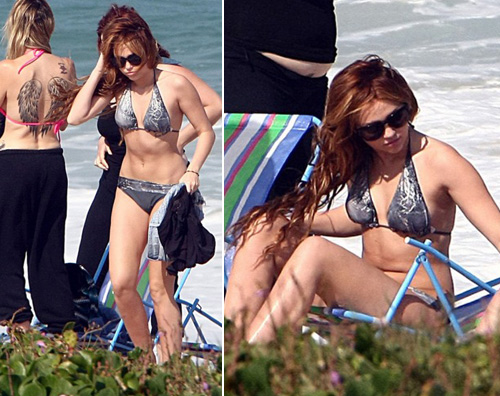 rio miley Miley Cyrus al mare con la mamma Tish