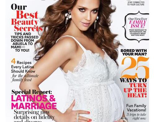 alba latina1 Jessica Alba tra gravidanza e lavoro
