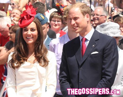 william kate William e Kate festeggiano i 144 anni del Canada