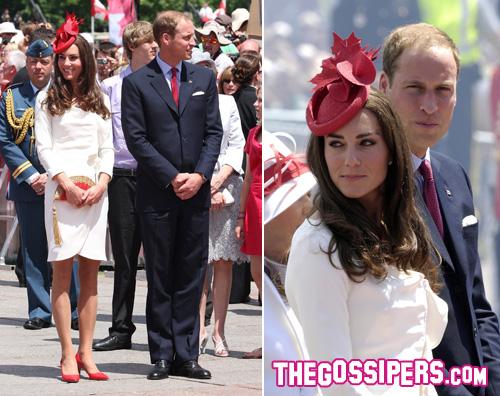 william kate2 William e Kate festeggiano i 144 anni del Canada