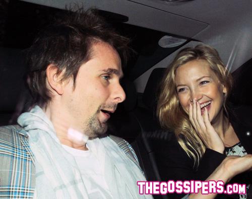 hudson bellamy macchina Kate Hudson: Sposerò Matthew Bellamy
