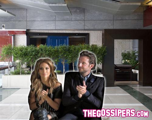 jennifer bradley1 Appuntamento romantico per Jennifer Lopez e Bradley Cooper
