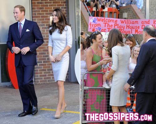 williamkate William e Kate impegnati a Sutton