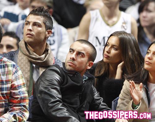 ronaldo shayik Cristiano Ronaldo con Irina per Real Madrid   Barcellona