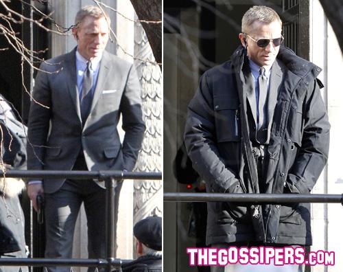 daniel craig Daniel Craig sul set del nuovo 007