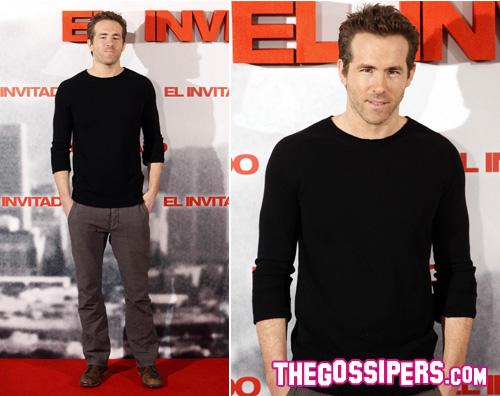 ryan reynolds Ryan Reynolds in Spagna per Safe house