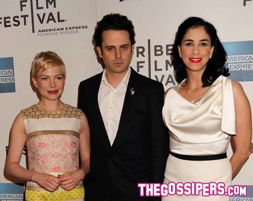 michelle premiere1 Michelle Williams al Tribeca Film Festival con Jason Segel