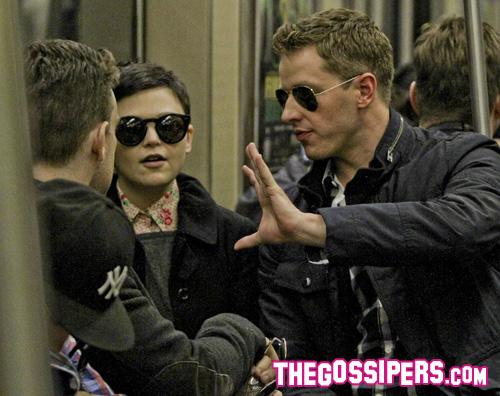 ginnifer metro Ginnifer e Josh in metro per gli Yankees