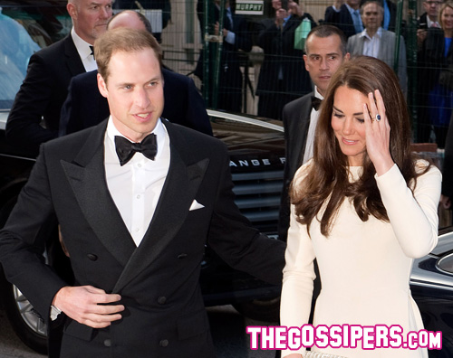 kate william Cena di gala per William e Kate
