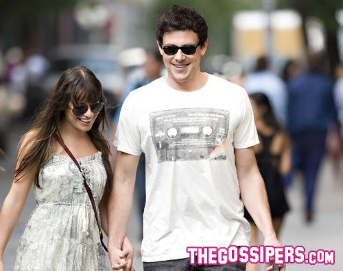 lea cory2 E amore tra Lea Michele e Cory Monteith!
